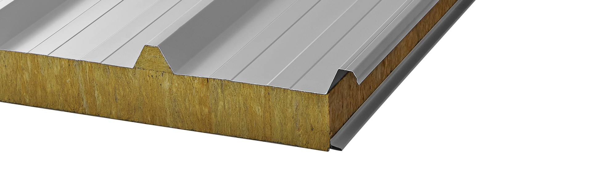 Mw R Roofing Sandwich Panel Mineral Wool Core